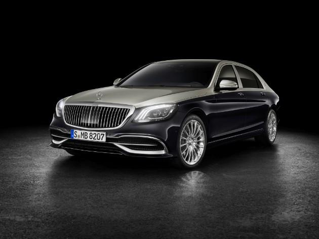 Mercedes рассекретил новый Maybach 1
