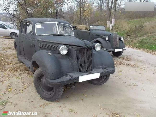 В Украине продают немецкий лимузин времен Гитлера 1