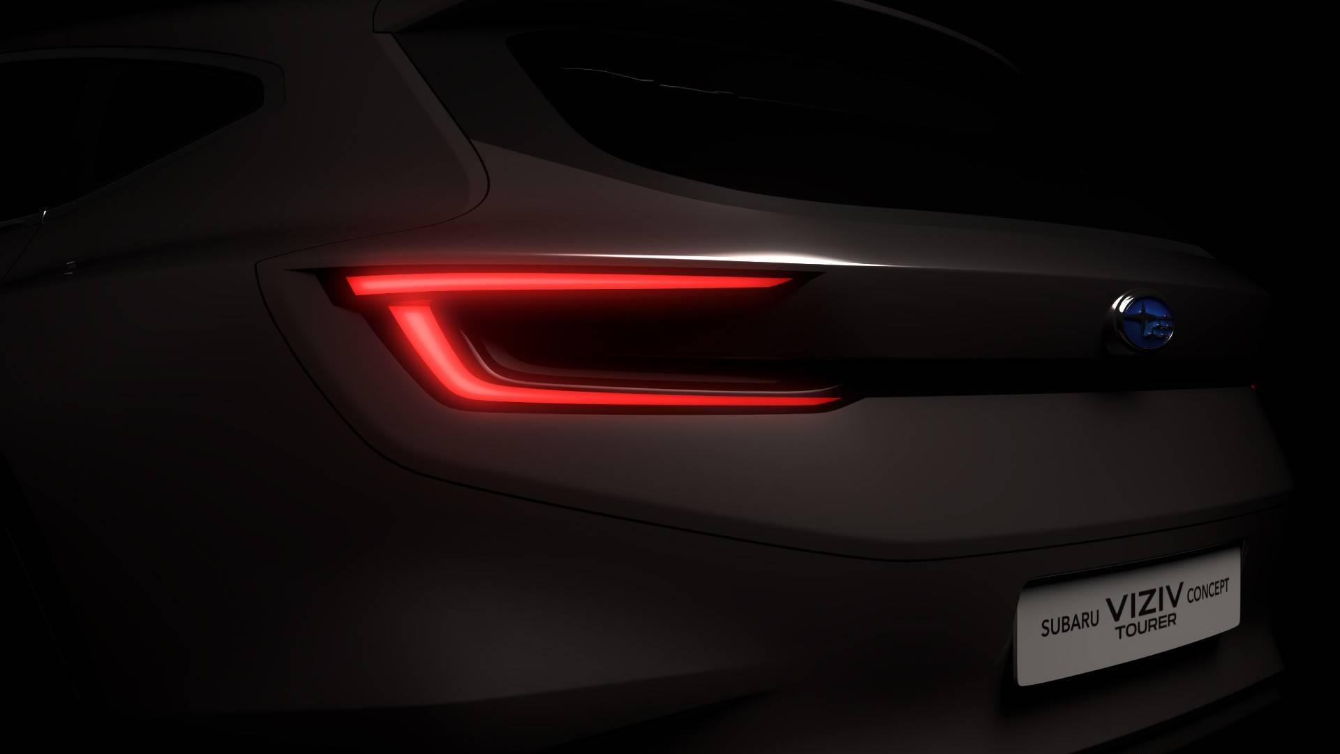 Subaru презентует новый универсал 1