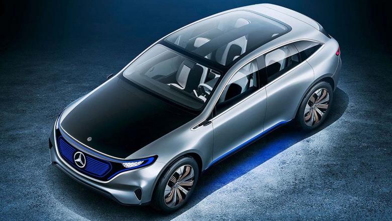 В Женеву едет предсерийный прототип Mercedes-Benz EQ 1
