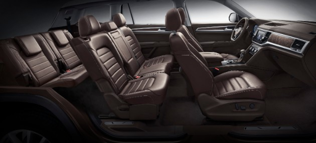 Volkswagen объявил начало продаж кроссовера Teramont 4