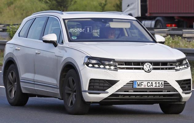 Volkswagen удивил видеороликом о новом «Туареге» 1