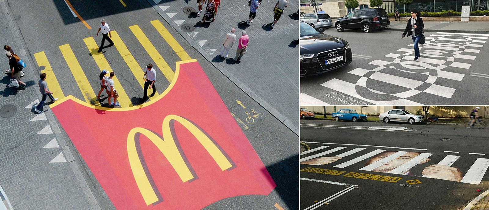 Самые яркие пешеходные переходы 4