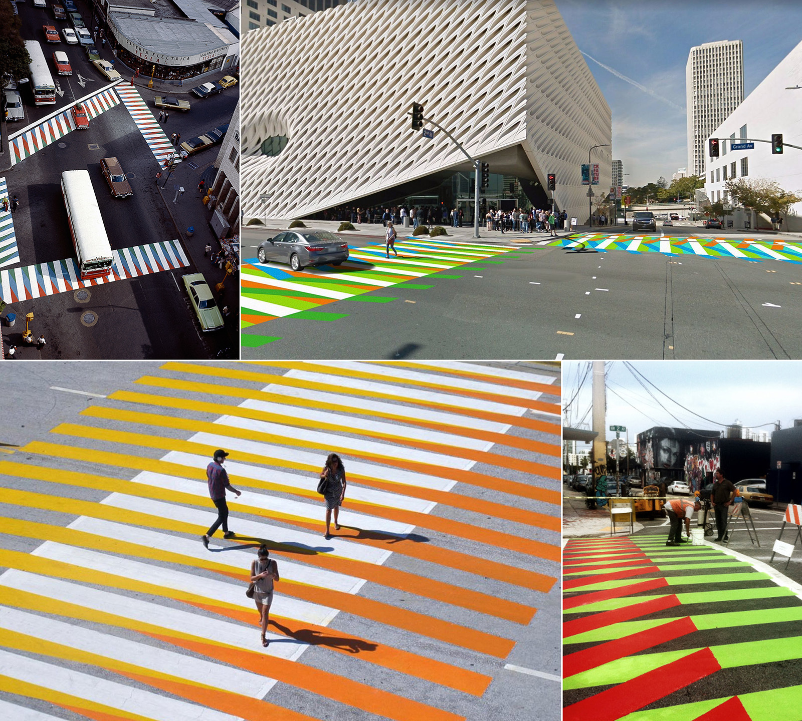 Самые яркие пешеходные переходы 1