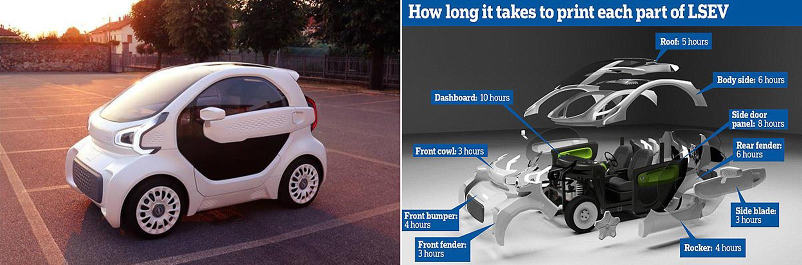 Китайцы построили пластиковый автомобиль, который будут продавать в Европе 1
