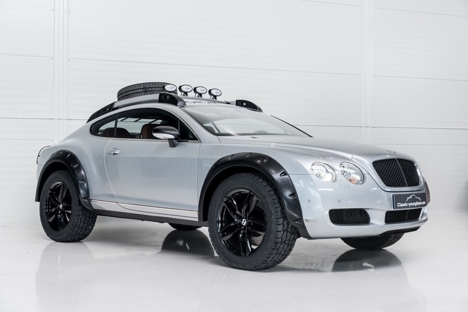 Голландцы продают Bentley Continental GT для бездорожья 2