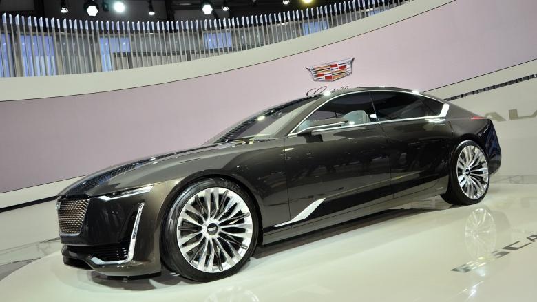 Cadillac решился запустить седан Escala 2