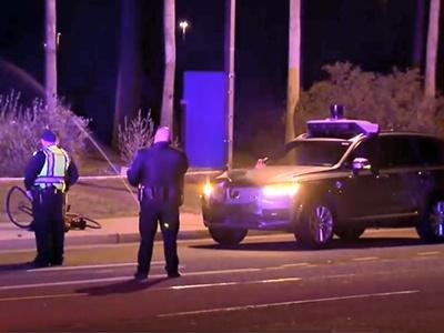 Полицейские «оправдали» систему автопилота автомобиля, который сбил женщину 1