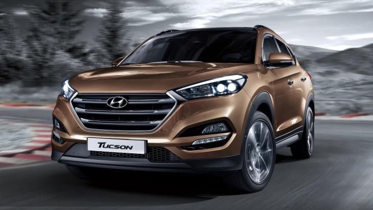 Hyundai представит обновленный Tucson 1