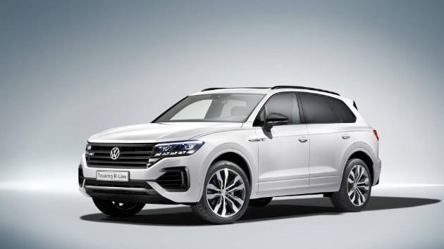 Volkswagen официально презентовал новый Touareg 2