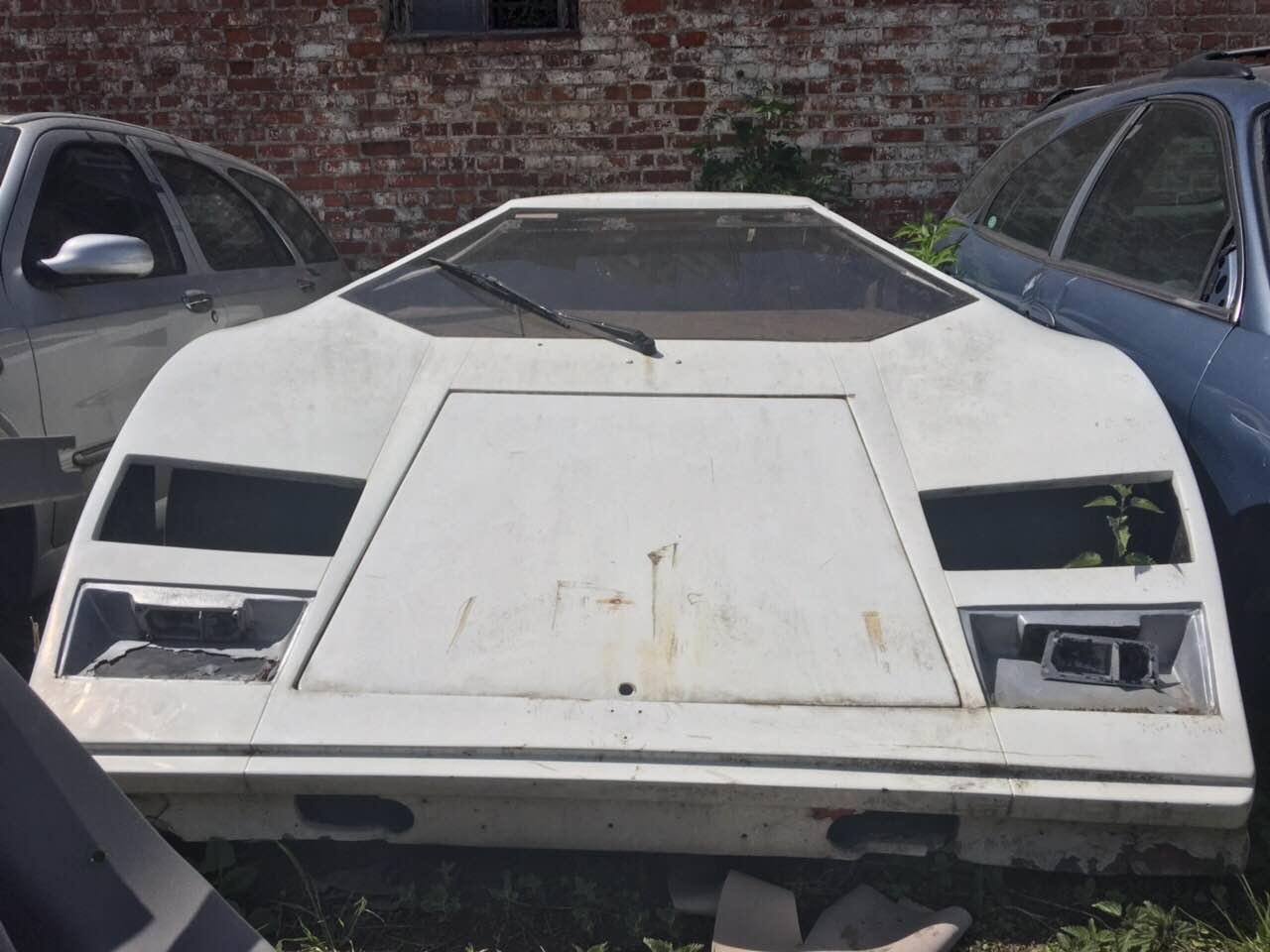 В Украине продают кузов от Lamborghini 1