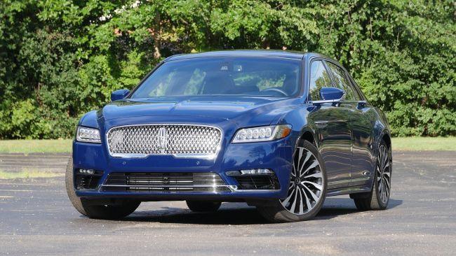 Lincoln презентует новый Continental 1