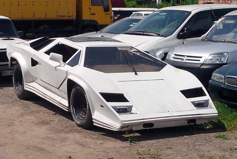 В Украине продают кузов от Lamborghini 2