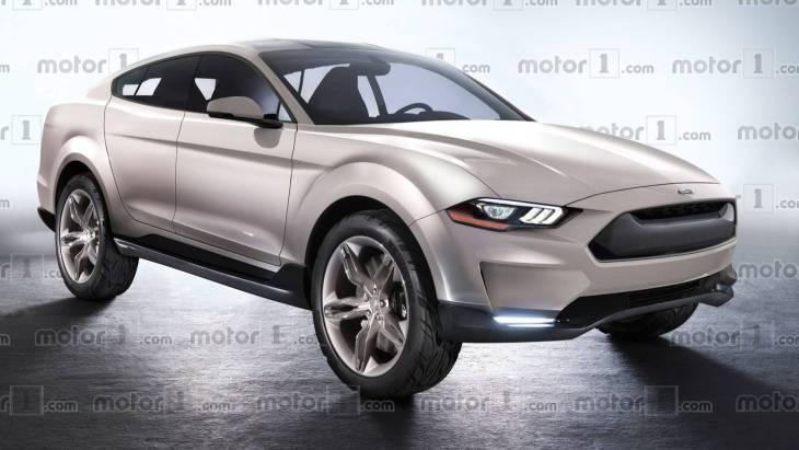 Каким может быть кросс-купе Ford Mustang 1