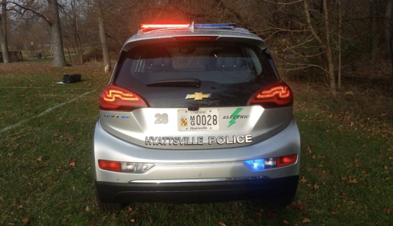 Chevrolet Bolt EV стал полицейским автомобилем 2