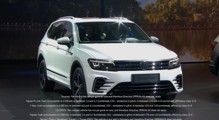 Volkswagen презентовал сразу пять новых кроссоверов 4