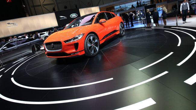 Первый электромобиль марки Jaguar вывели на тесты 1