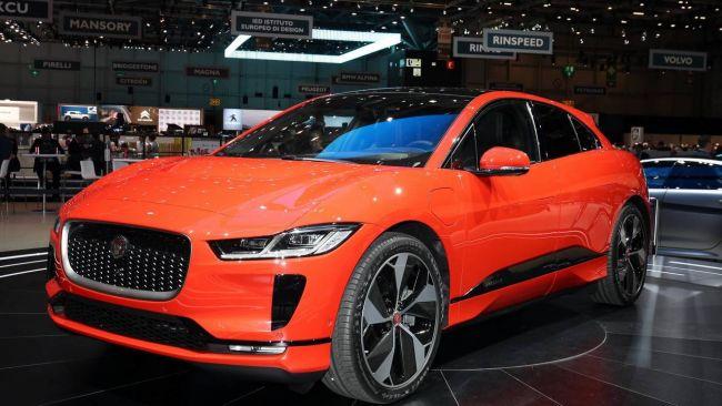 Первый электромобиль марки Jaguar вывели на тесты 2