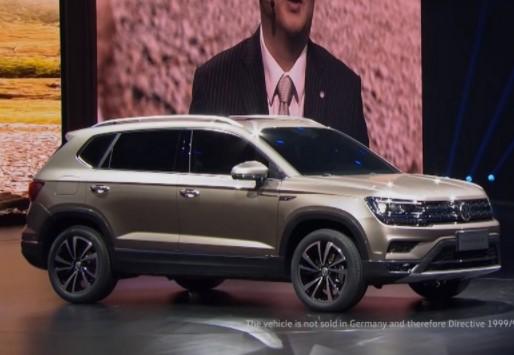 Volkswagen презентовал сразу пять новых кроссоверов 2