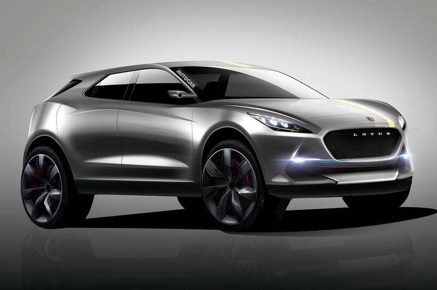 Кроссовер Lotus будет построен на «тележке» Volvo 1