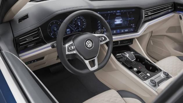 Volkswagen официально презентовал новый Touareg 3