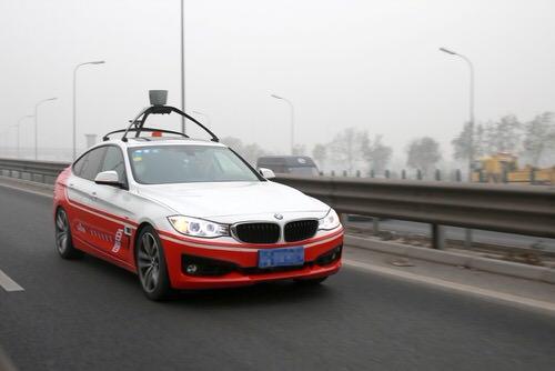 «Китайский Google» начнет испытывать беспилотные автомобили 1