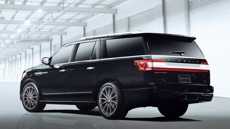 Lincoln Navigator получил 600-сильную версию от Hennessy 2
