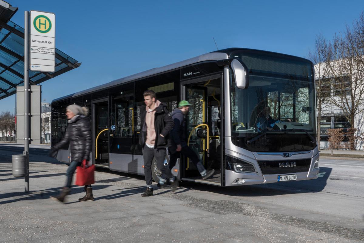 Компания MAN презентовала «революционный» городской автобус 1