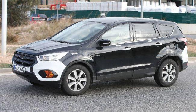 Что спряталось в задней части увеличенного Ford Kuga 2