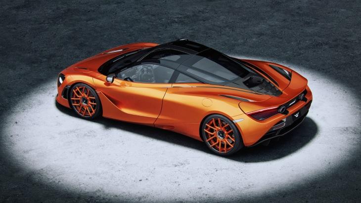 Купе McLaren 720S стало мощнее и стильнее 1