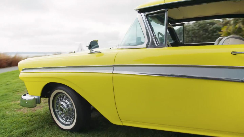 Ford 1957 года выпуска стал электрокаром 2