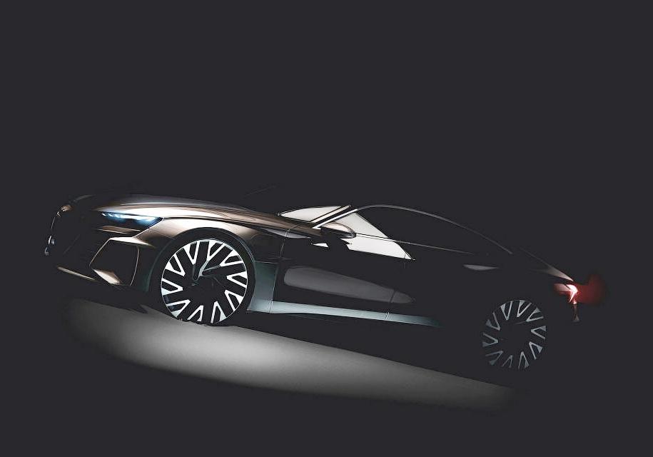 Audi работает над четырехдверным электрическим GT 1