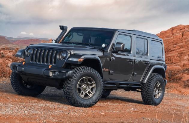 Jeep презентовал семь пасхальных концептов 7