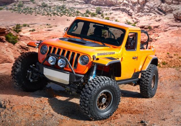 Jeep презентовал семь пасхальных концептов 2