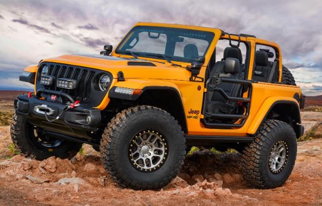 Jeep презентовал семь пасхальных концептов 5