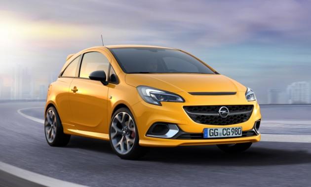 Компания Opel презентовала новую спортивную Corsa GSi 1