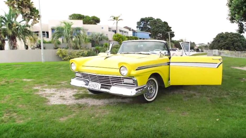 Ford 1957 года выпуска стал электрокаром 1