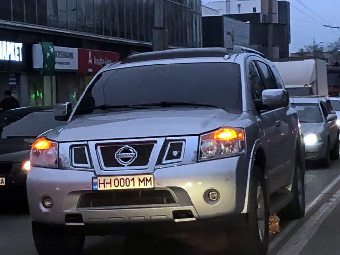 В Украине все чаще замечаются новые автомобильные номера 1