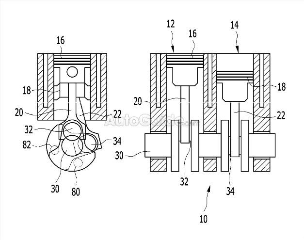 Hyundai разрабатывает новый двигатель с двумя цилиндрами 1