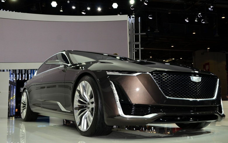 Cadillac решился запустить седан Escala 1