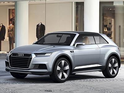 Audi презентует самый маленький кроссовер 1