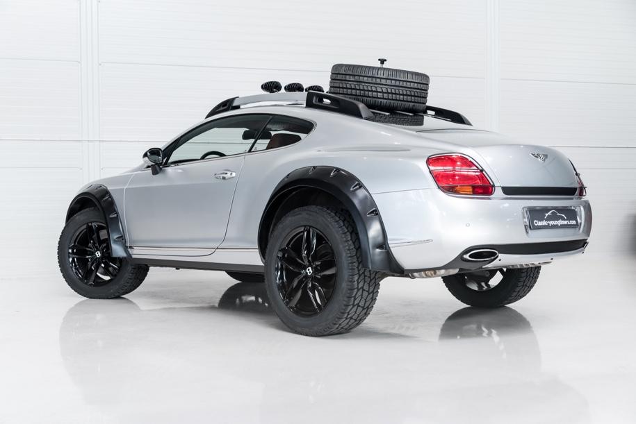 Голландцы продают Bentley Continental GT для бездорожья 3