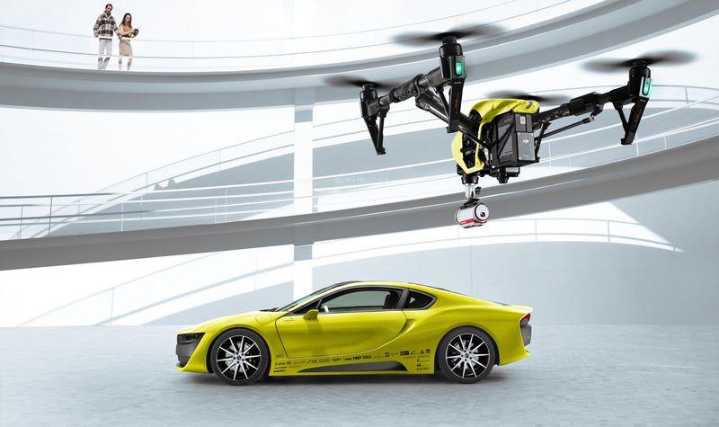 «Ослепшим» автомобилям будут помагать дроны 1