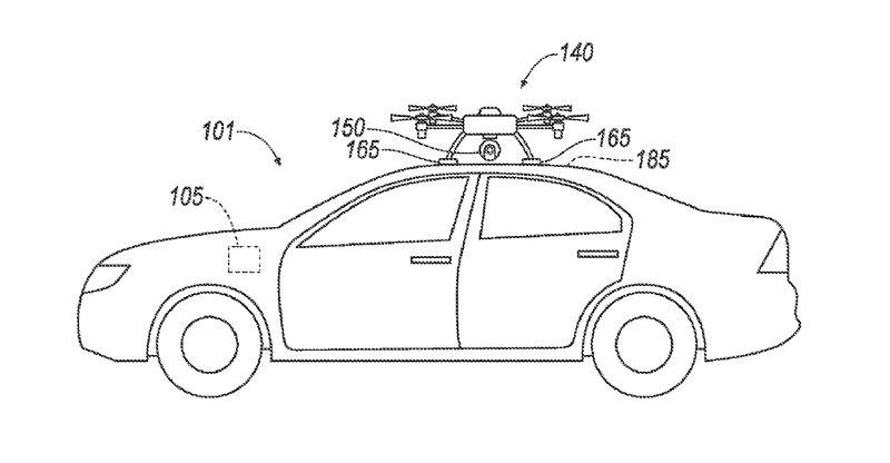 «Ослепшим» автомобилям будут помагать дроны 2