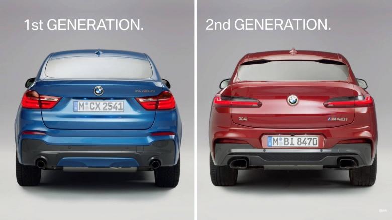 BMW пришлось объяснять автолюбителям, чем отличаются кроссоверы X4 разных поколений 2