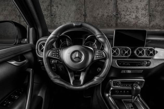 Польские тюнеры поработали над пикапом Mercedes-Benz X-Class 4