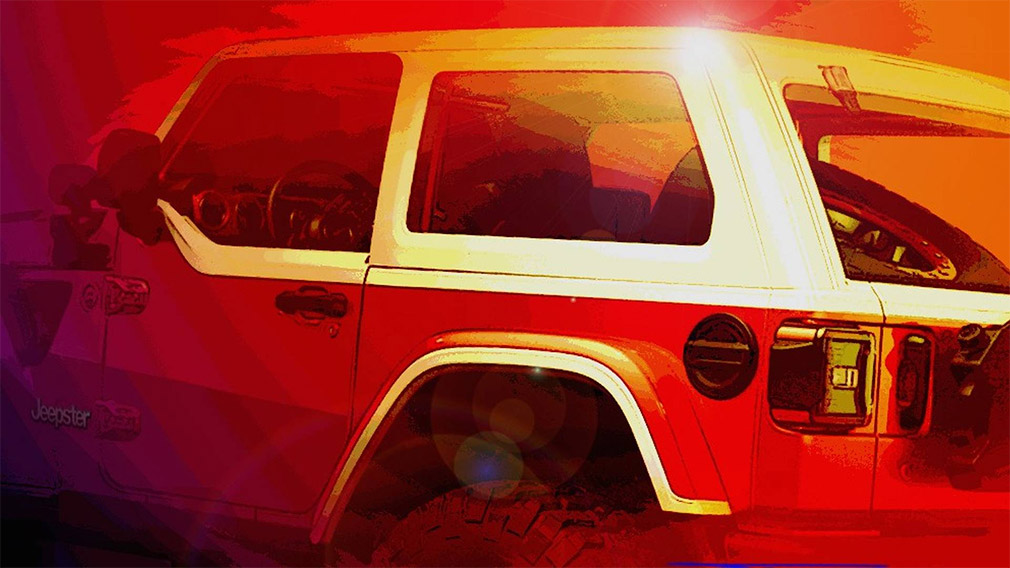 Jeep продемонстрировал Wrangler для «Пасхального сафари» 1