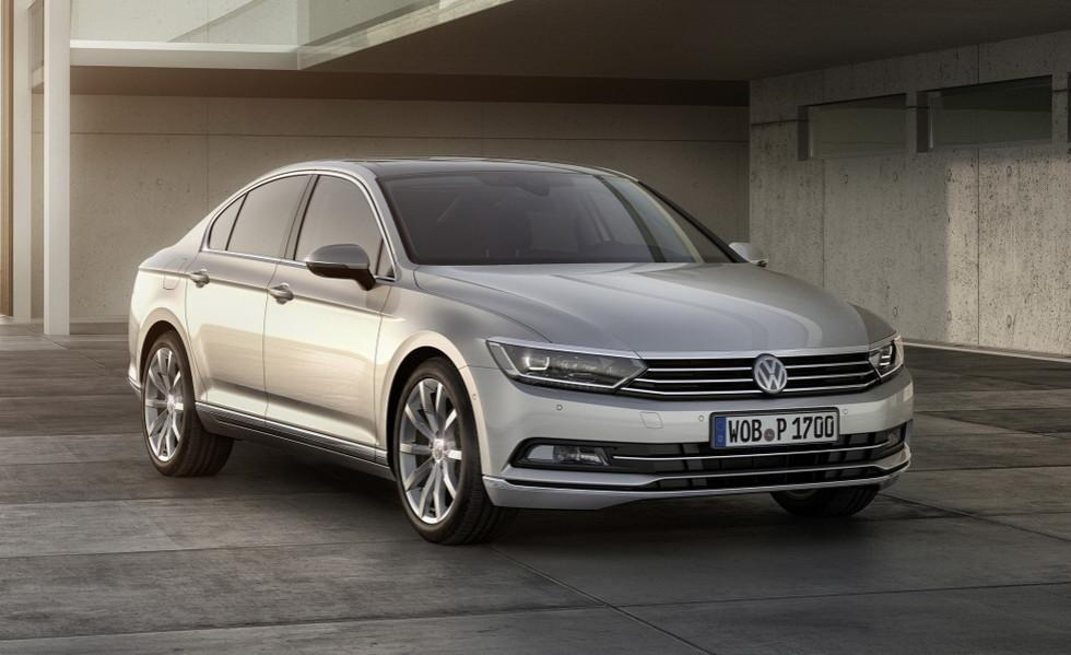 Volkswagen подправит внешность «Пассату» 1