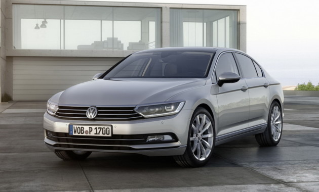 Volkswagen подправит внешность «Пассату» 2