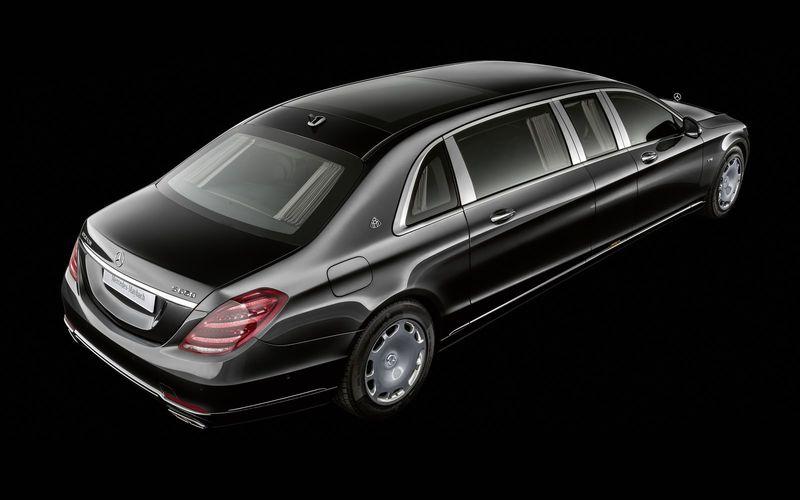 Mercedes-Maybach обновил лимузин Pullman 1
